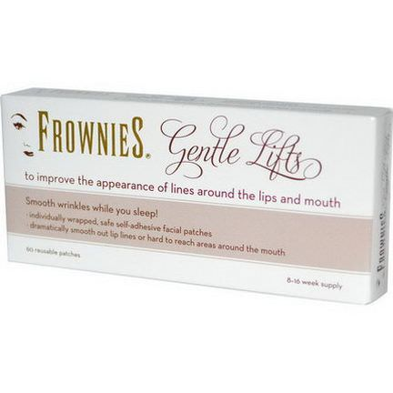 Frownies, Gentle Lifts, 60 Reusable Patches