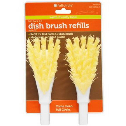 Full Circle Home LLC, Dish Brush Refills, 2 Refills