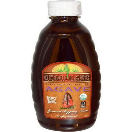 Fun Fresh Foods, Organic Blue Agave, Gourmet Dipping Nectar, Chocolate 473.12ml