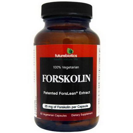 FutureBiotics, Forskolin, 25mg, 60 Veggie Caps
