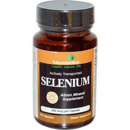 FutureBiotics, Selenium, 200mcg, 100 Capsules