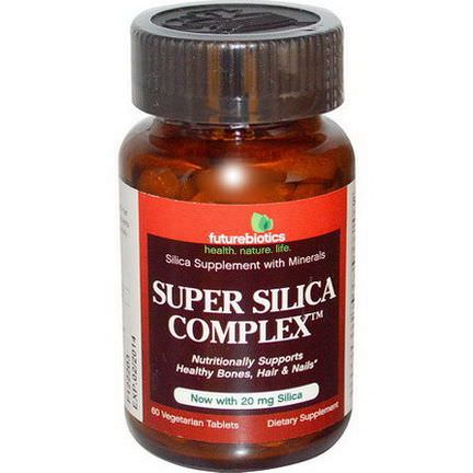 FutureBiotics, Super Silica Complex, 60 Veggie Tabs