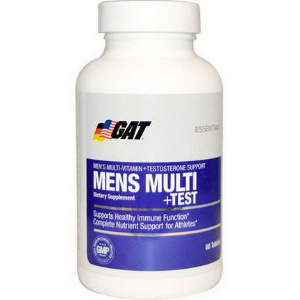GAT, Mens Multi Test, 60 Tablets