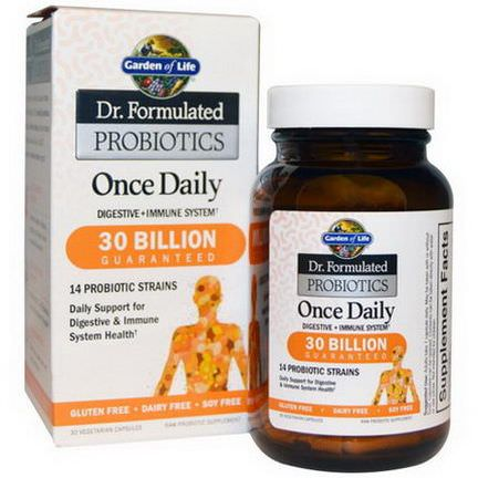 Garden of Life, Dr. Formulated Probiotics, Once Daily Ice