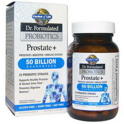Garden of Life, Dr. Formulated Probiotics, Prostate Ice
