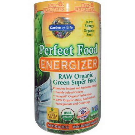 Garden of Life, Perfect Food Energizer, RAW Organic Green Super Food 282g