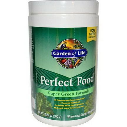 Garden of Life, Perfect Food Super Green Formula 300g