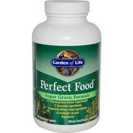 Garden of Life, Perfect Food, Super Green Formula, 150 Veggie Caplets