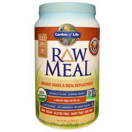 Garden of Life, RAW Meal, Beyond Organic Shake and Meal Replacement, Vanilla Spiced Chai 909g