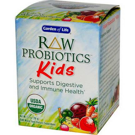 Garden of Life, RAW Probiotics, Kids 96g Ice