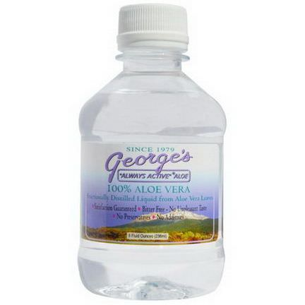 George's Aloe Vera, 100% Aloe Vera Liquid 236ml