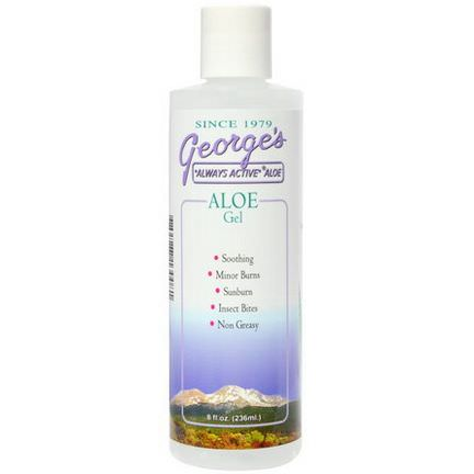 George's Aloe Vera, Aloe Gel 236ml