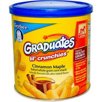 Gerber, Graduates, Lil'Crunchies, Cinnamon Maple 42g