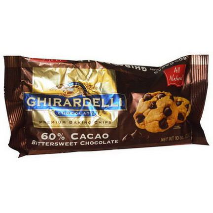 Ghirardelli, 60% Cocoa Bittersweet Chocolate Baking Chips 283g