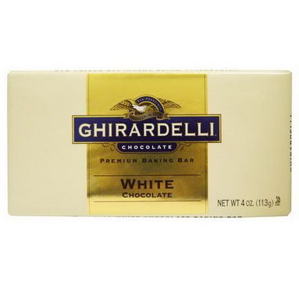 Ghirardelli, Premium Baking Bar, White Chocolate 113g