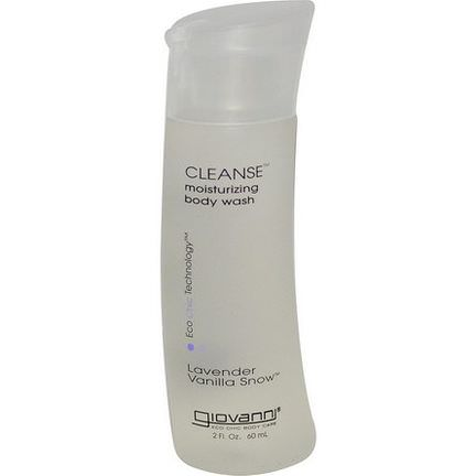Giovanni, Cleanse Moisturizing Body Wash, Lavender Vanilla Snow 60ml