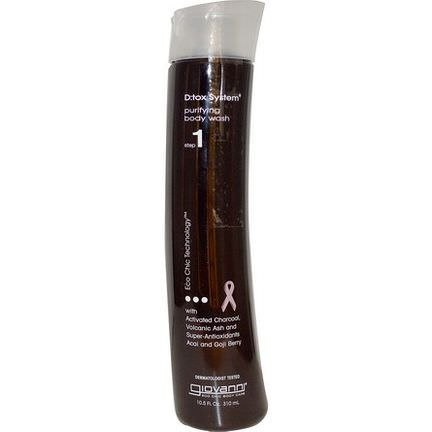 Giovanni, D:tox System, Purifying Body Wash, Step 1 310ml