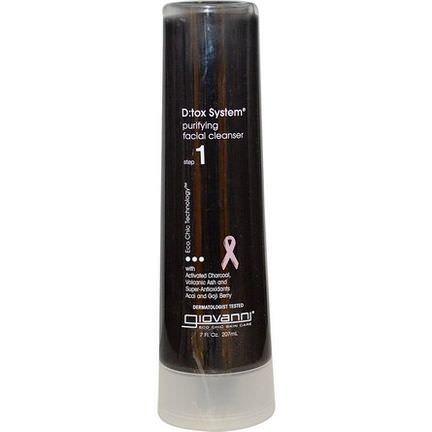 Giovanni, D:tox System, Purifying Facial Cleanser, Step 1 207ml