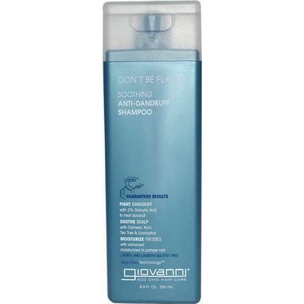 Giovanni, Don't Be Flaky, Soothing Anti-Dandruff Shampoo 250ml
