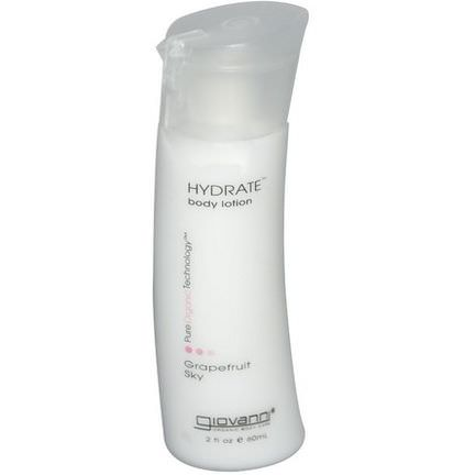 Giovanni, Hydrate Body Lotion, Grapefruit Sky 60ml