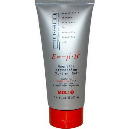 Giovanni, Magnetic Attraction Styling Gel 200ml