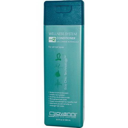 Giovanni, Wellness System Conditioner, Step 2 250ml