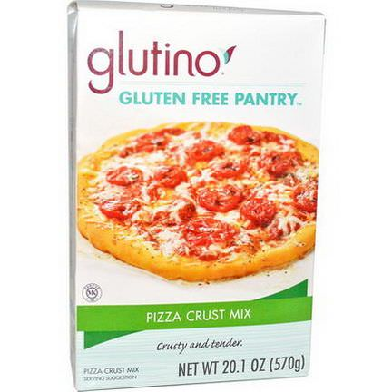 Gluten-Free Pantry, Glutino, Pizza Crust Mix 570g