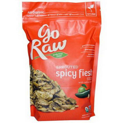 Go Raw, Organic Sprouted Spicy Fiesta Seeds with Celtic Sea Salt 454g