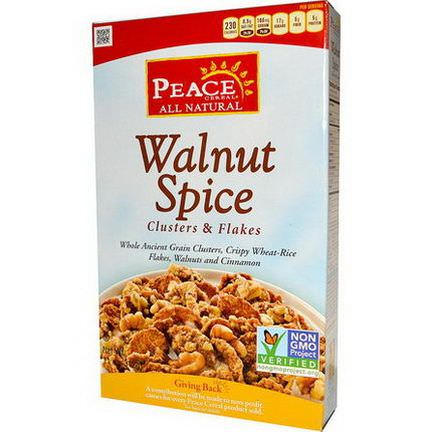 Golden Temple, Peace Cereal, Clusters&Flakes, Walnut Spice 312g
