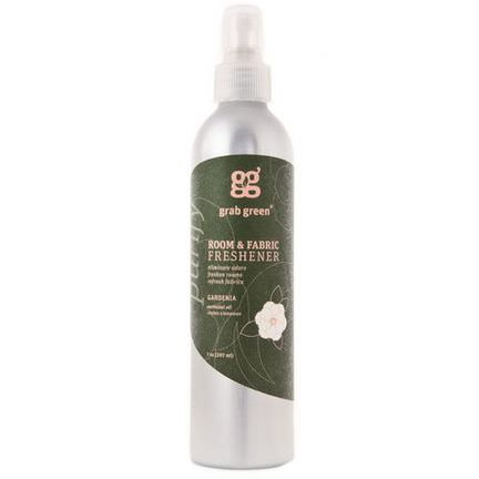 GrabGreen, Room&Fabric Freshener, Gardenia 207ml