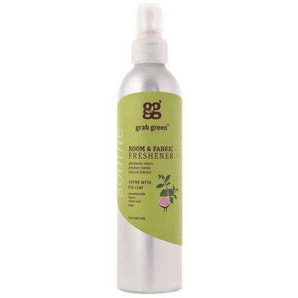 GrabGreen, Room&Fabric Freshener, Thyme with Fig Leaf 207ml