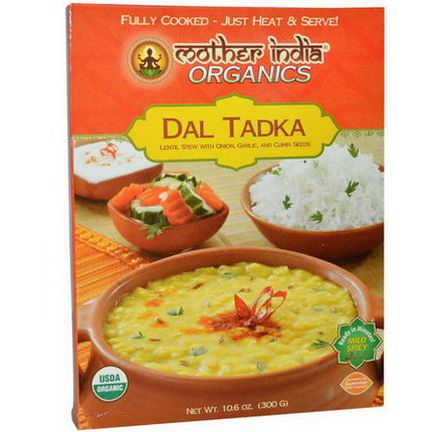 Great Eastern Sun, Mother India Organics, Dal Tadka, Mild Spicy 300g