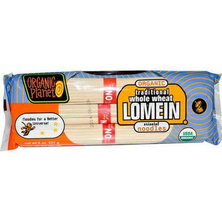 Great Eastern Sun, Organic Planet, Traditional Whole Wheat Lomein Oriental Noodles 227g