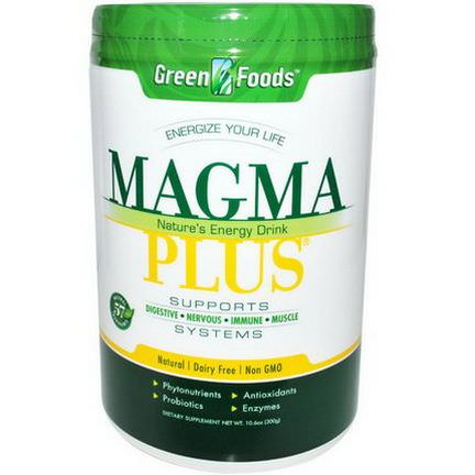Green Foods Corporation, Magma Plus, Nature's Energy Drink 300g