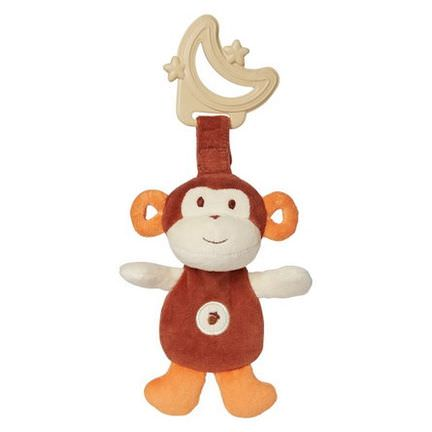 Greenpoint Brands, My Natural, Sensory Eco Teether, Monkey, 1 Teether