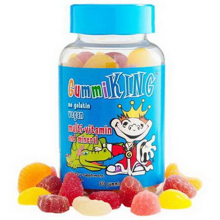 Gummi King, Multi-Vitamin&Mineral, For Kids, 60 Gummies