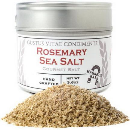 Gustus Vitae, Condiments, Gourmet Salt, Rosemary Sea Salt 102g
