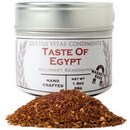 Gustus Vitae, Condiments, Gourmet Seasoning, Taste of Egypt 55g