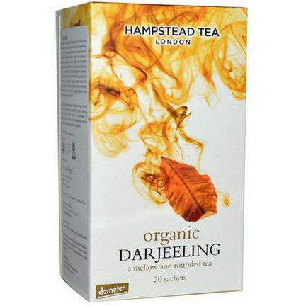 Hampstead Tea, Organic, Darjeeling Tea, 20 Sachets 40g