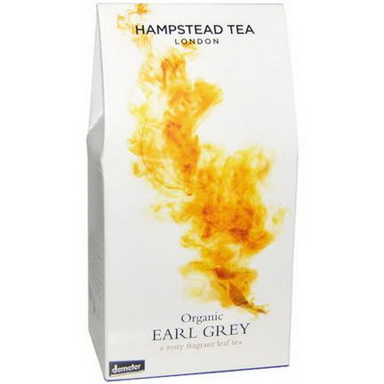 Hampstead Tea, Organic Earl Grey 100g