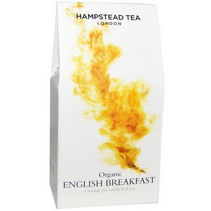 Hampstead Tea, Organic, English Breakfast 100g