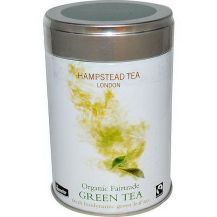 Hampstead Tea, Organic Fairtrade, Green Tea 100g