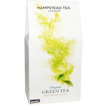 Hampstead Tea, Organic Green Tea 100g