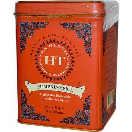 Harney&Sons, Tea Blends, Pumpkin Spice, 20 Tea Sachets 40g