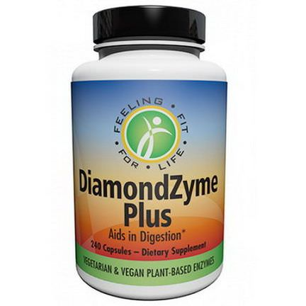 Harvey Diamond, DiamondZyme Plus, 240 Capsules