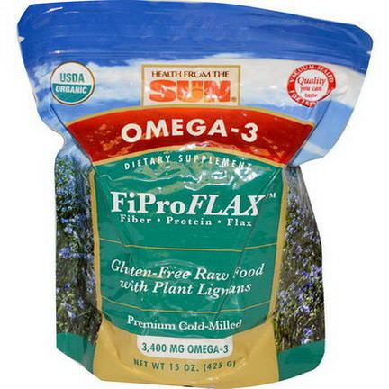 Health From The Sun, Omega-3, Original FiProFlax 425g