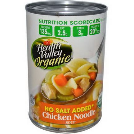 Health Valley, Organic, Chicken Noodle Soup 411g