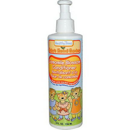 Healthy Times, Baby's Herbal Garden, Conditioner, Camomile Blossom 236ml
