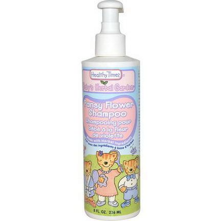Healthy Times, Baby's Herbal Garden, Shampoo, Pansy Flower 236ml