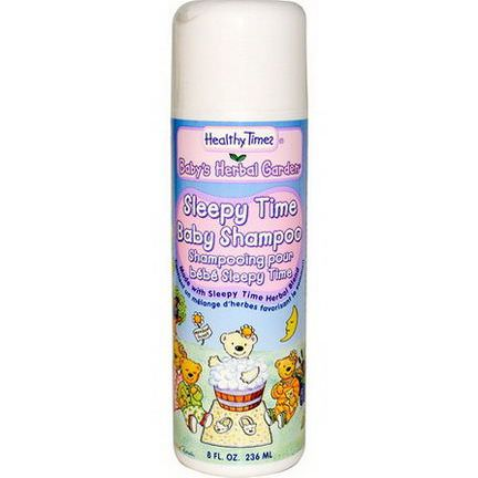 Healthy Times, Baby's Herbal Garden, Sleepy Time Baby Shampoo 236ml